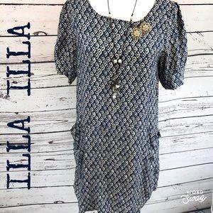 Illa Illa Tunic Short Sleeve Dress